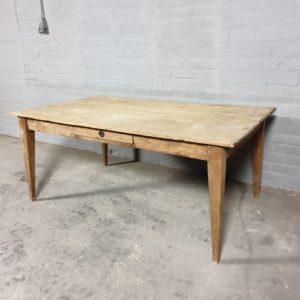 Antieke onbehandelde tafel - C028