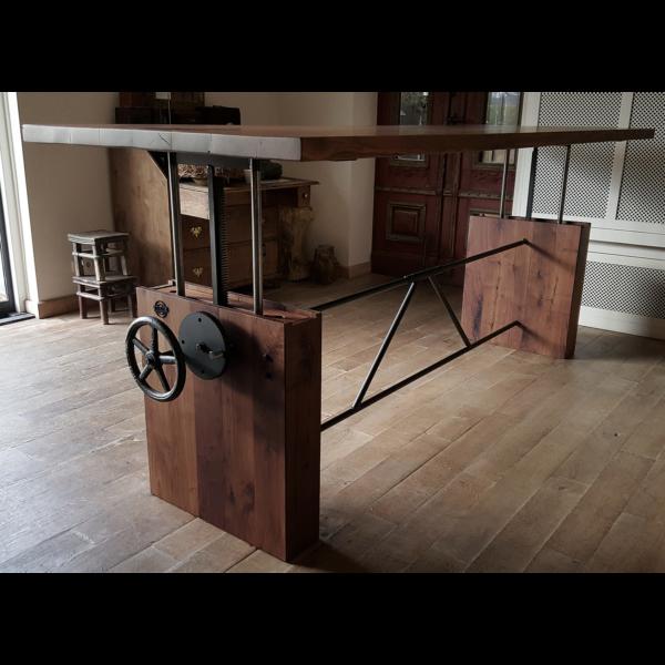 In hoogte verstelbare tafel | opdraai tafel DT07
