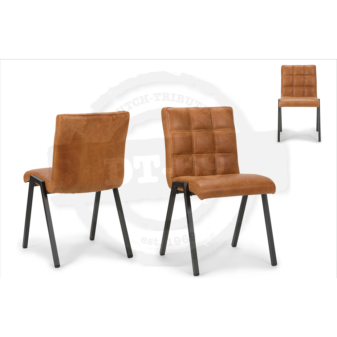 Industriële stoel Check - zonder armleuning S005