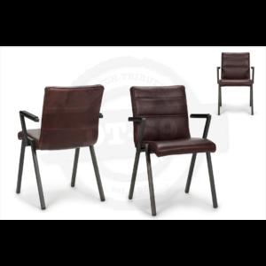 Industriële stoel Beam - met armleuning S008