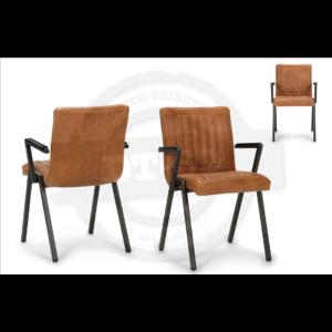 Industriële stoel Framed - met armleuning S012