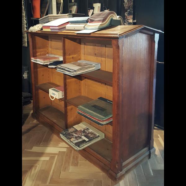 Antieke dubbele boekenkast - A008
