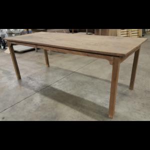 Antieke onbehandelde tafel - C026