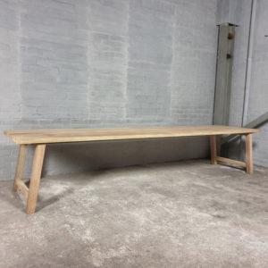 Tuintafel Bato | buitentafel van hardhout Iroko - T02