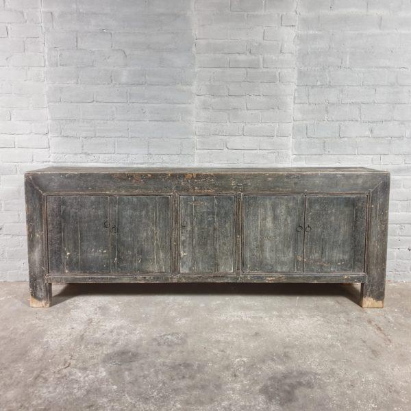 Vintage Dressoir, oude graanvoorraadkast - D022