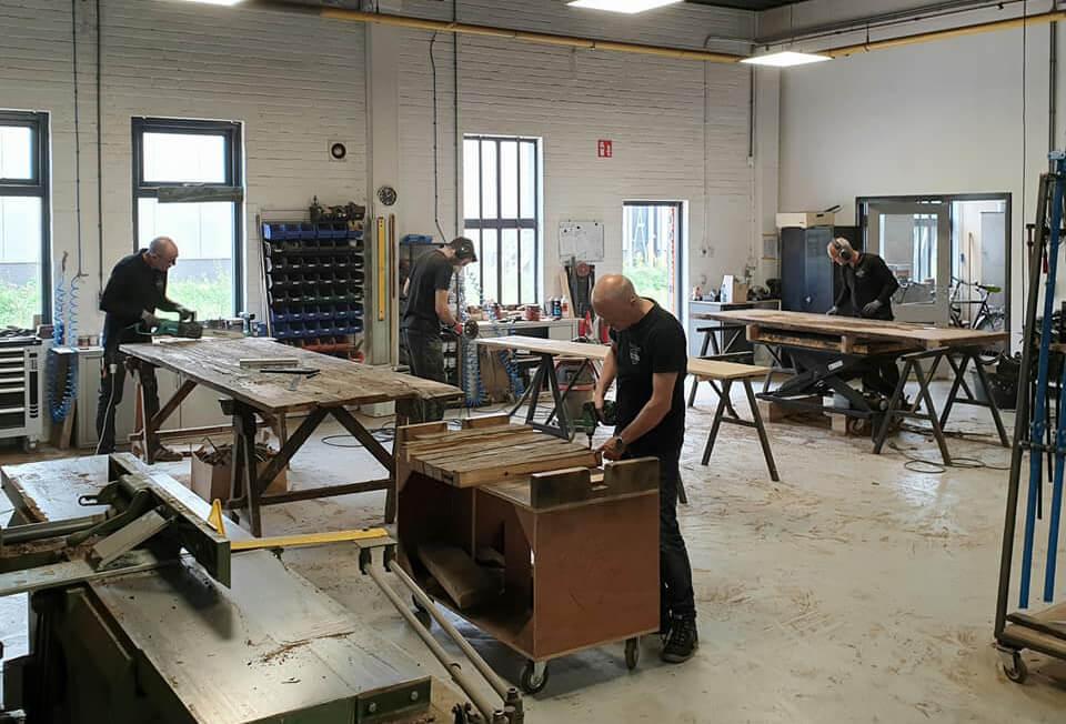 Werkplaats hout